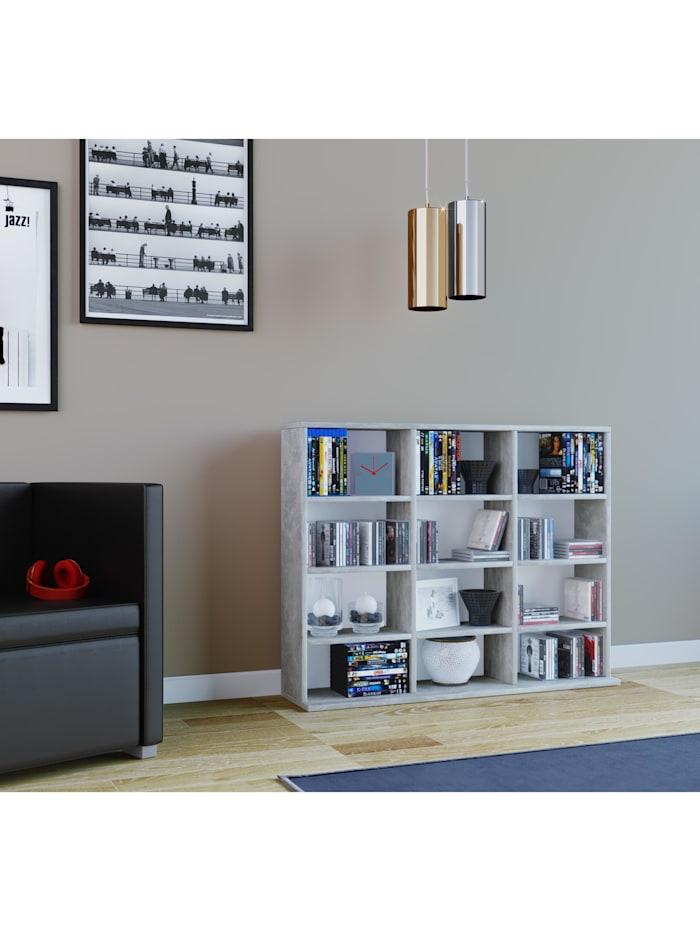 Holz Stand Regal Raumteiler Megosa Mini