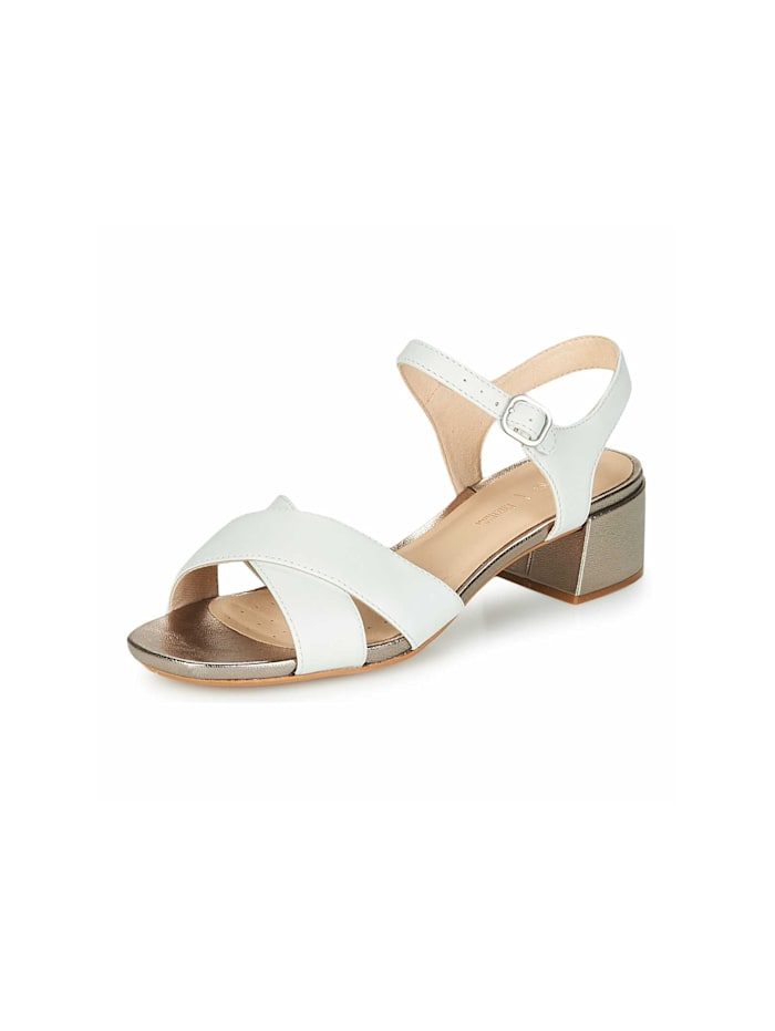 Clarks Sandalen/Sandaletten, weiß