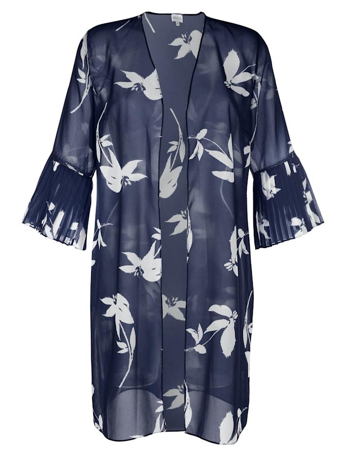 Robe chasuble à imprimé floral