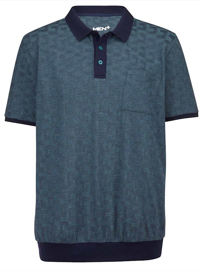 Men Plus Polo tričko v špeciálnom strihu, Námornícka/Petrolejová
