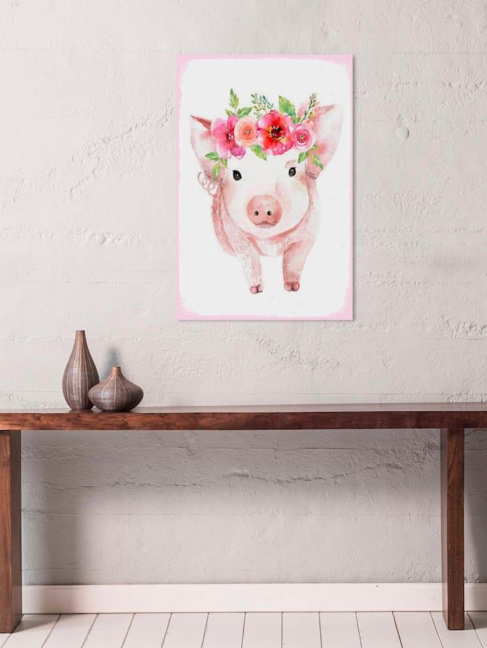 Schild, Schweinchen