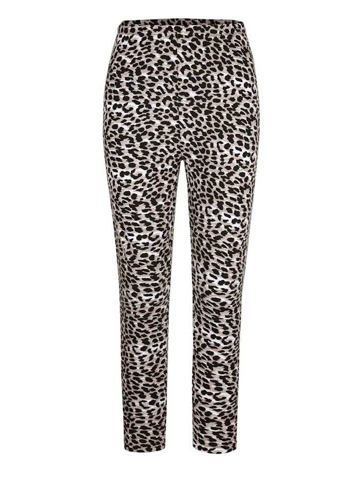 Leopardikuosiset leggingsit