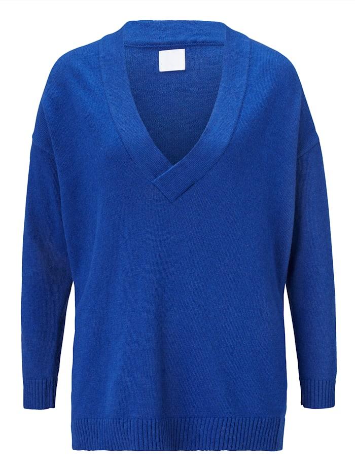 REKEN MAAR Pullover, Royalblau
