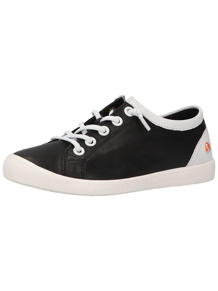 Softinos Softinos Sneaker, Schwarz/Weiß