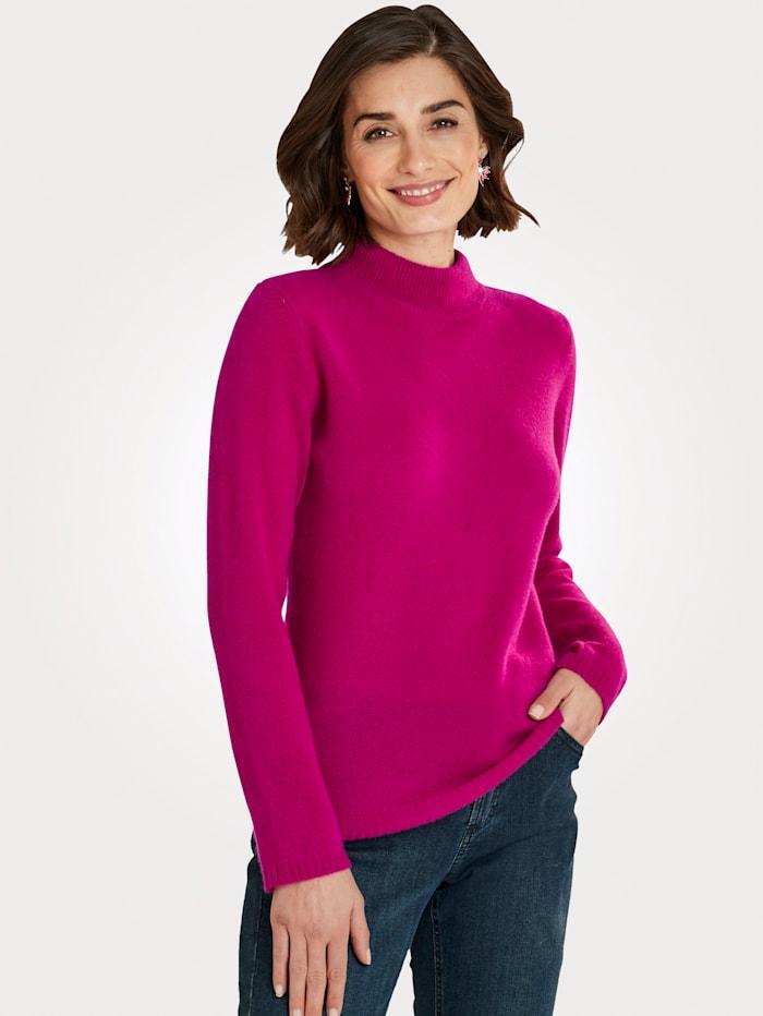 MONA Pullover aus reinem Kaschmir, Cyclam