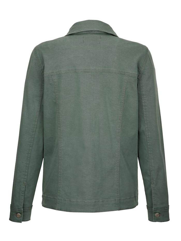 Denim jacket in a timeless design