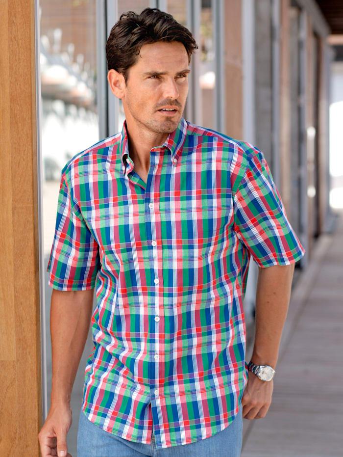 BABISTA Hemd in kräftigen Farben, Koralle/Grün