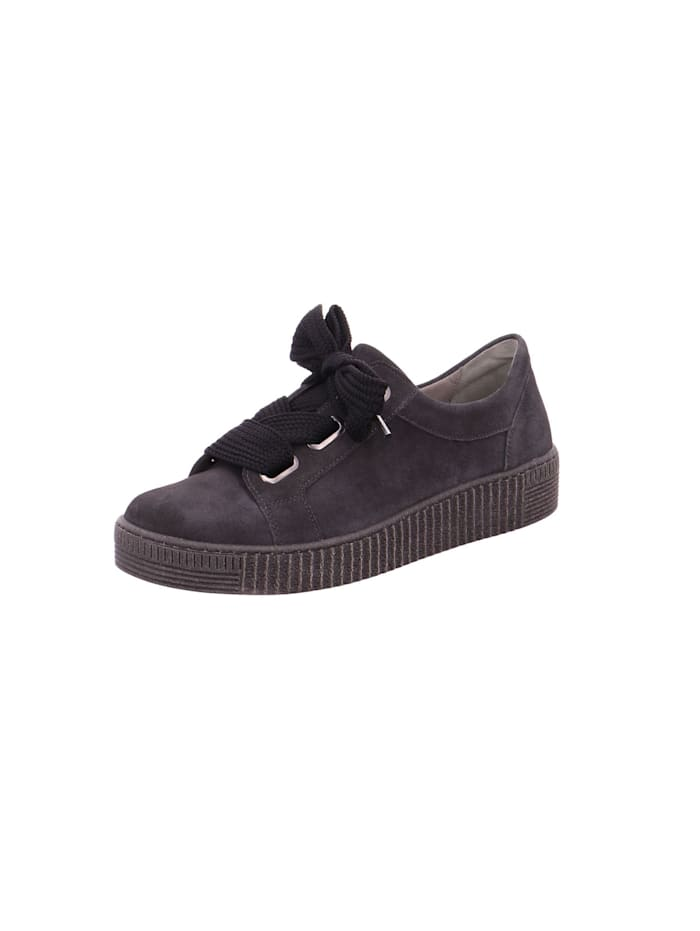 Gabor Damen Schnürschuh in dunkel-grau, dunkel-grau