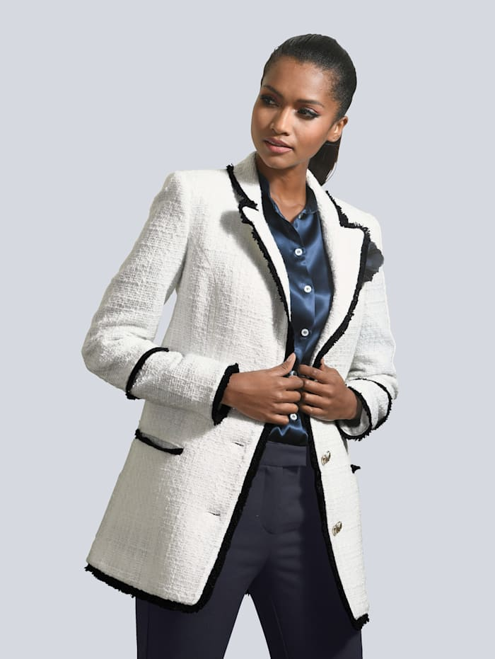 Blazer in bouclélook