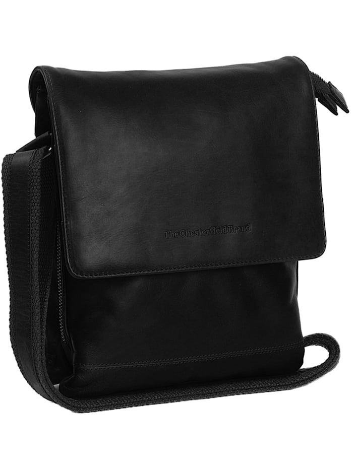The Chesterfield Brand Milou Umhängetasche Leder 21 cm, schwarz