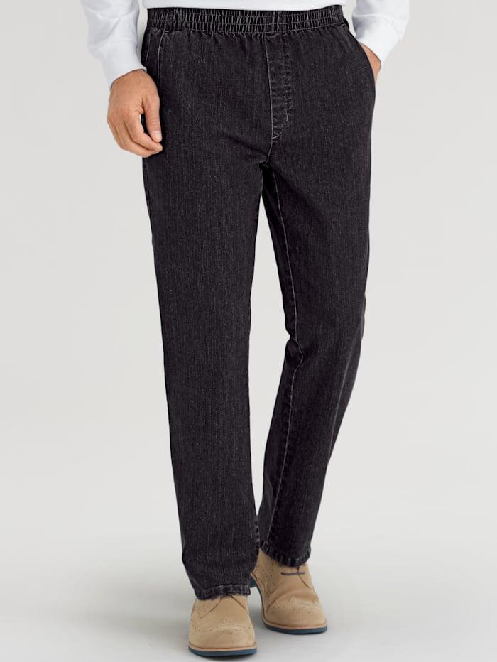 BABISTA Jeans met elastische band rondom, Zwart