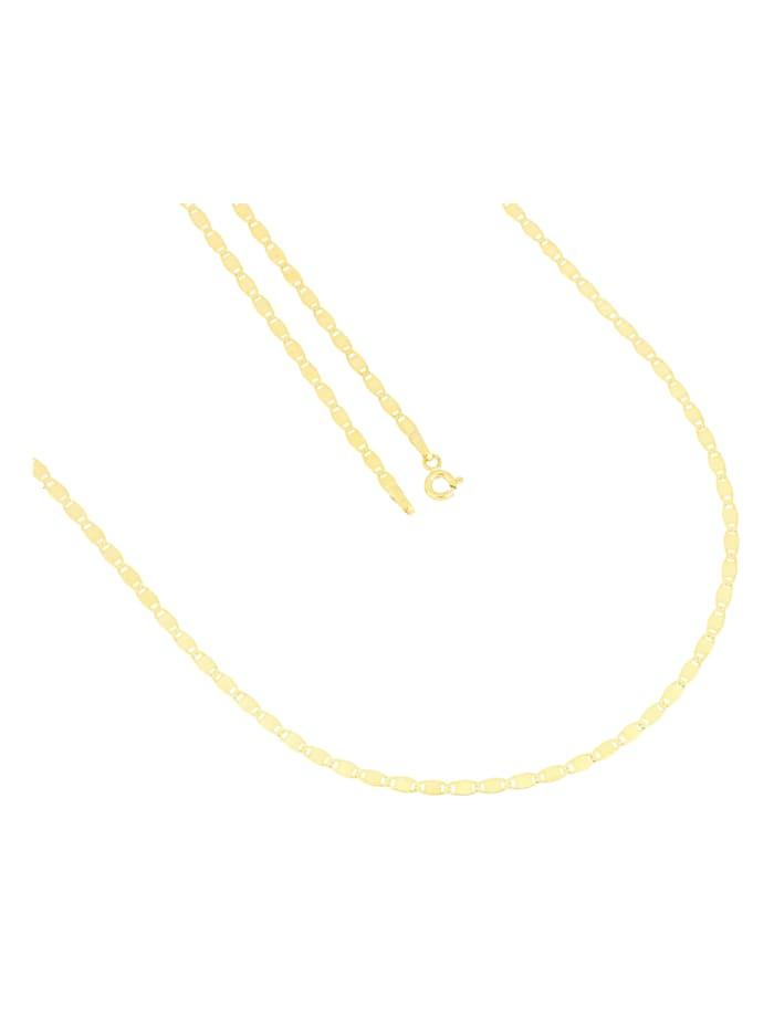 Grazielli Halskette in Gelbgold 375, Gelbgoldfarben