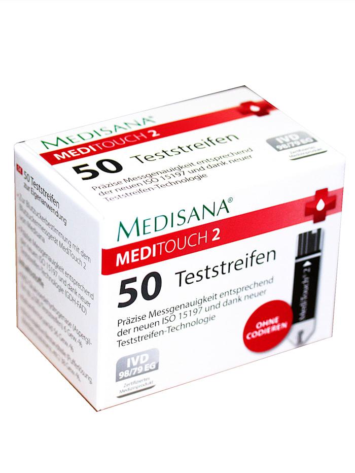 Medisana Glucomètre de haute précision avec kit de démarrage, Blanc