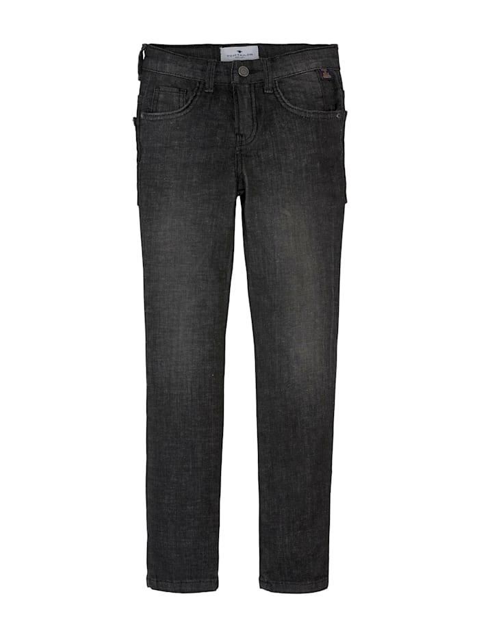 Tom Tailor Matt Jeans, black denim black