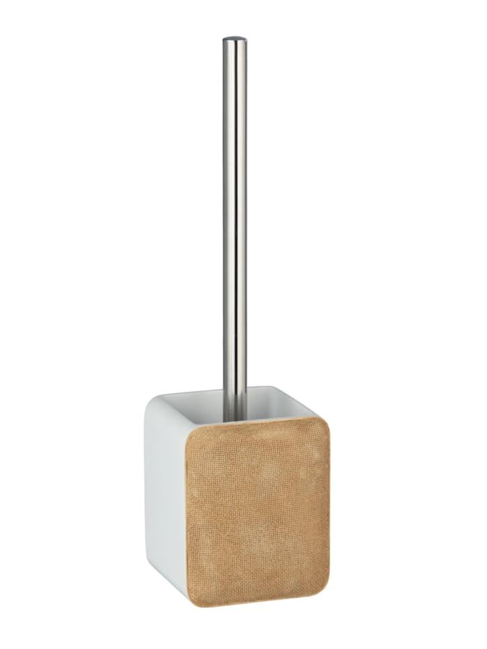 Wenko WC-Garnitur Ambila Beige, Polyresin, Beige