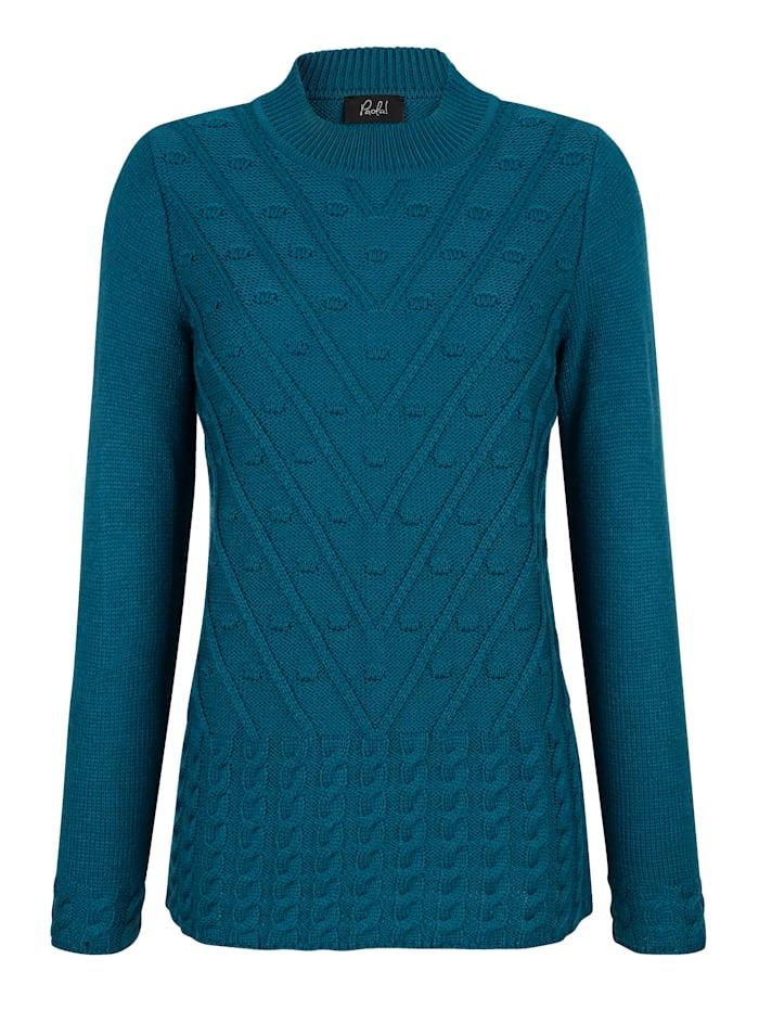 Pullover mit schönem Strickmuster vorne