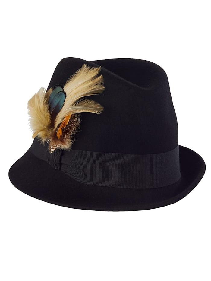 Tiroler hoed met veren