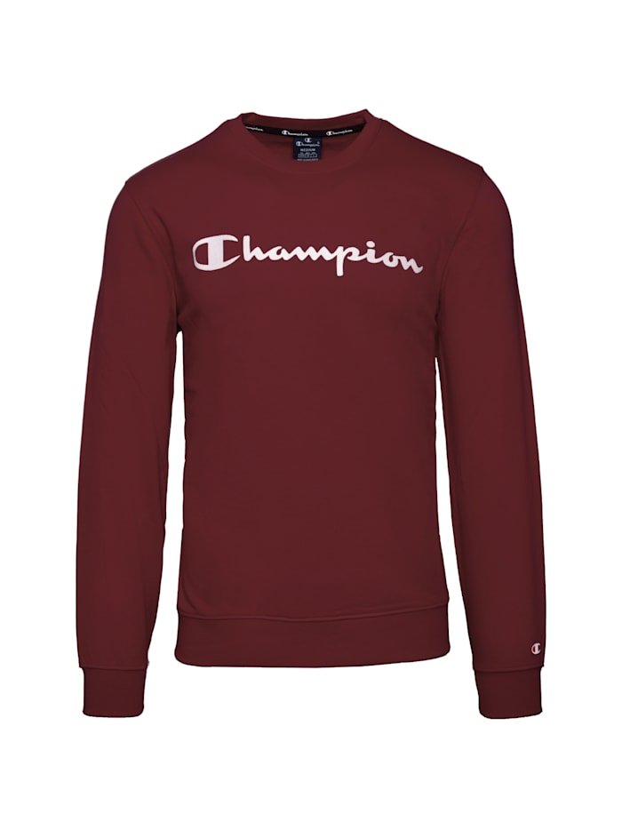 Champion Sweatshirt Crewneck, rot