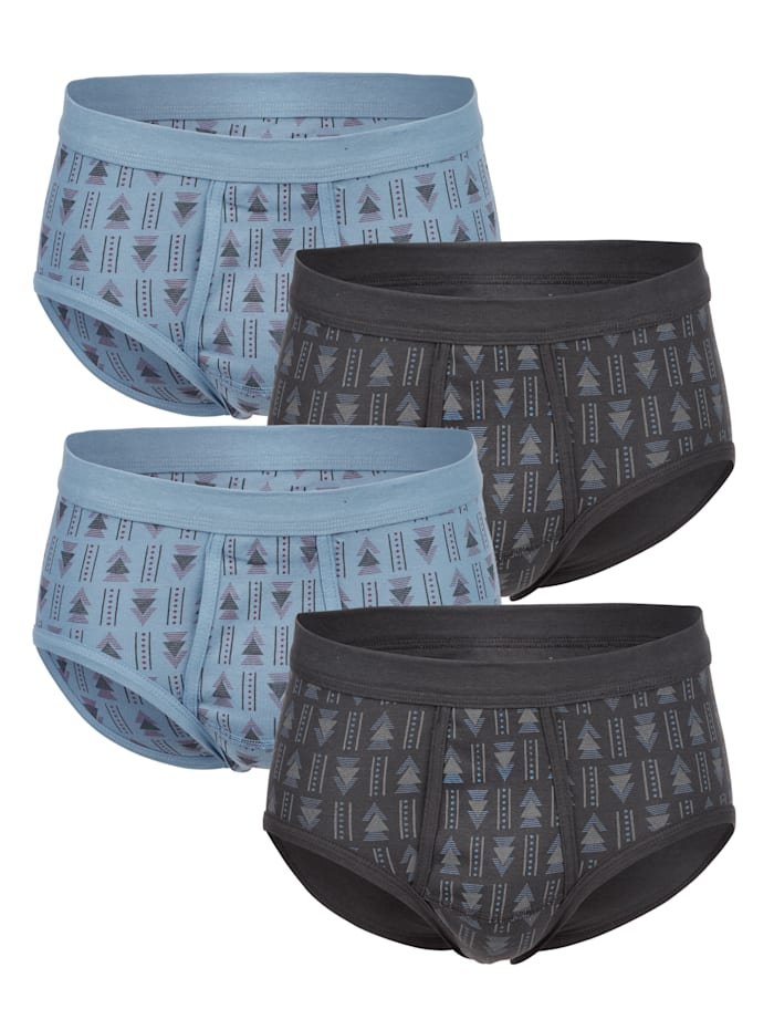 G Gregory Slip 4er Pack, 2x blau, 2x grau