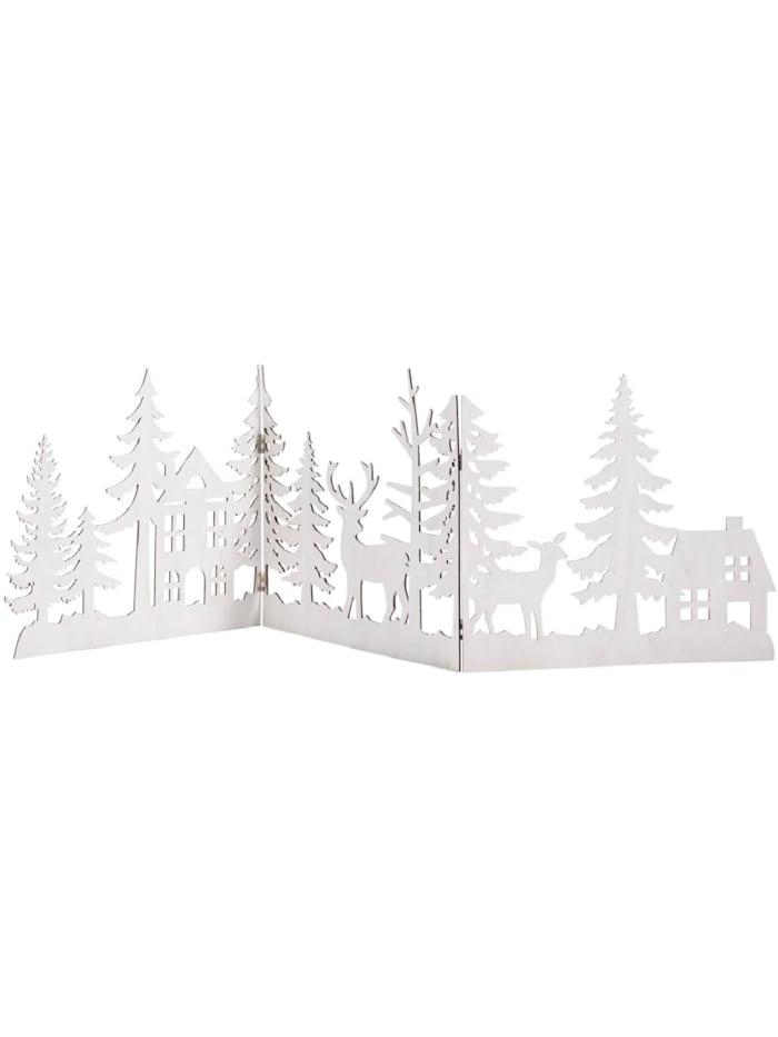Living Weihnachts-Silhouette, Weiß
