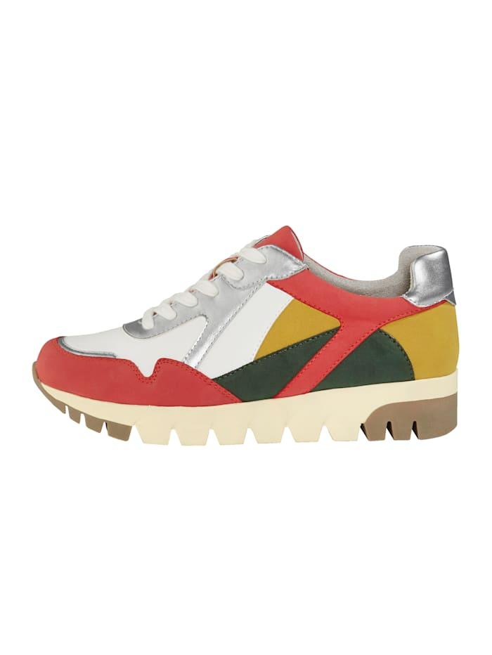 Sneaker in harmonieuze kleuren