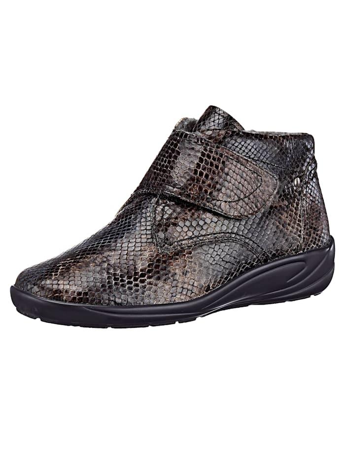 Semler Velcro Ankle boots, Grey
