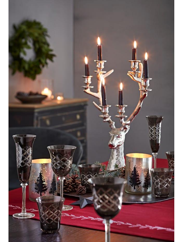 Kerzenhalter, Hirsch