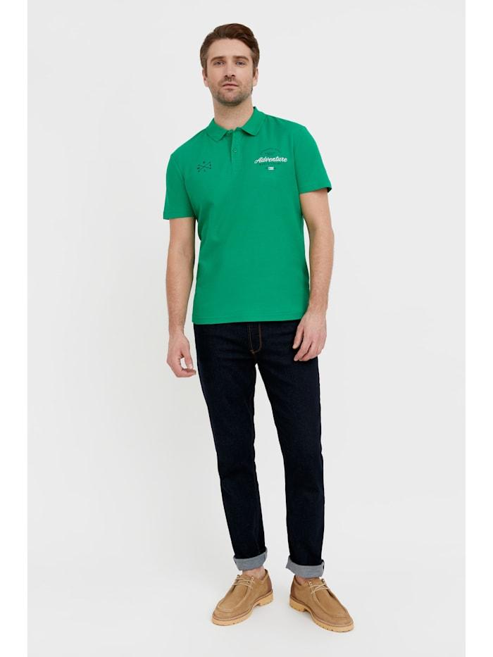 Poloshirt mit bequemem Kragen