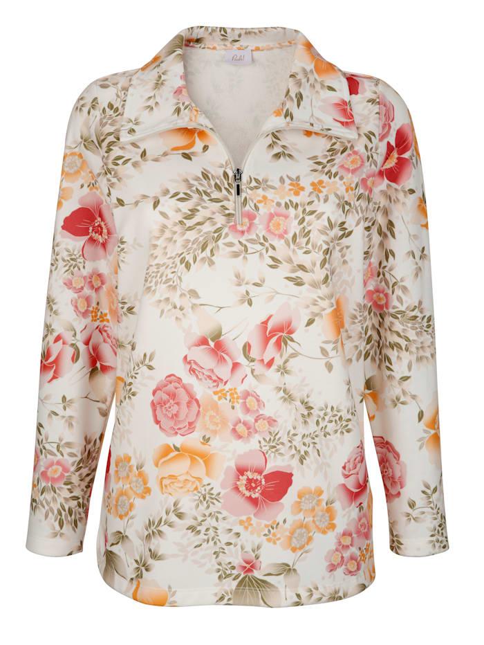 Sweatshirt mit floralem Design