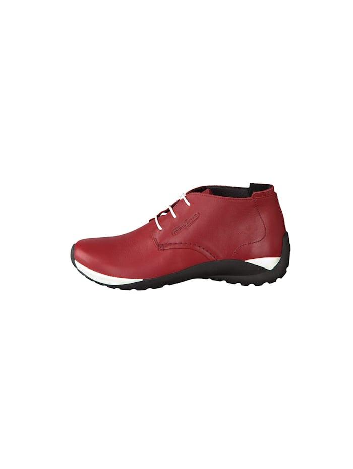 Damen Schnürschuh in rot