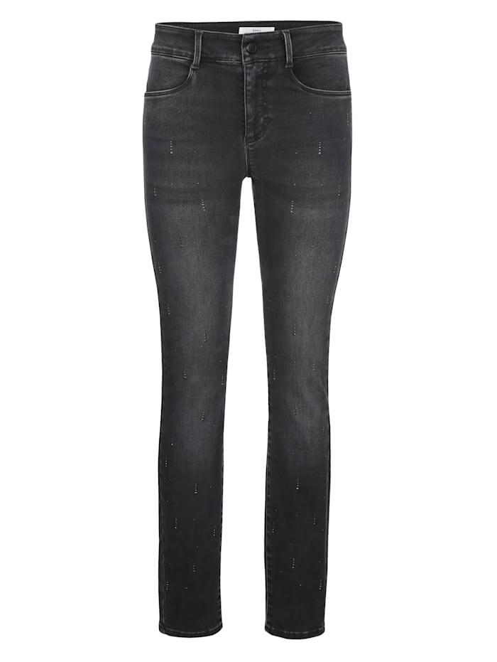 """Jeans """"Ana"""" von Brax mit Hotfixsteinchen"""