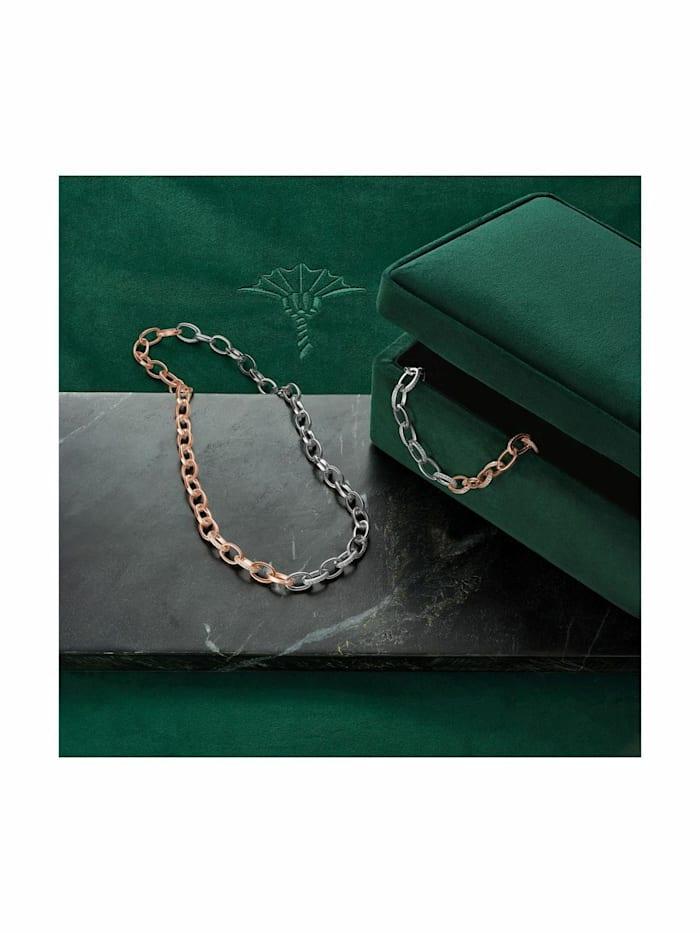 Collier für Damen, Sterling Silber 925, Zirkonia