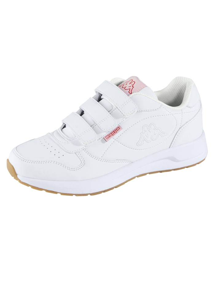 Kappa Velcro shoes suitable for men and women, White