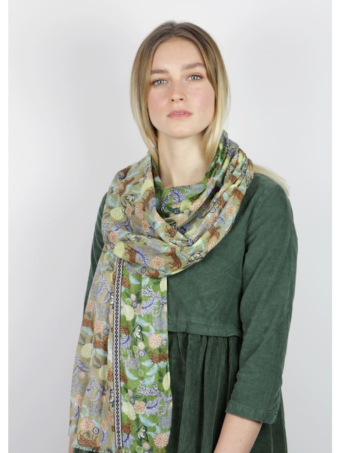 Softer Safari-Schal aus feinster Baumwolle