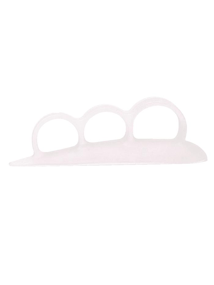 MedoVital Korektor kladivkových prstov s 3 pútkami, biela