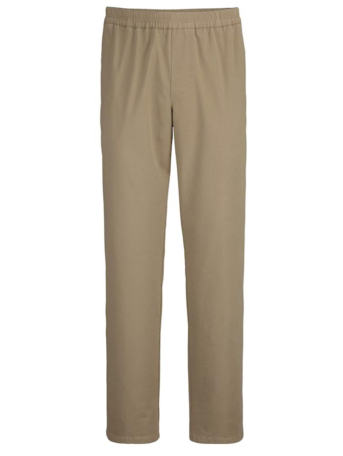 BABISTA Pantalon à taille élastiquée, Sable
