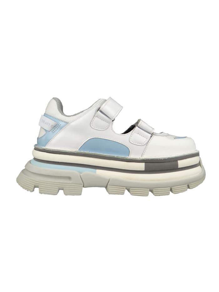 *art Damen Leder Sneaker CORE2 White Sky Weiß 1644, White Sky