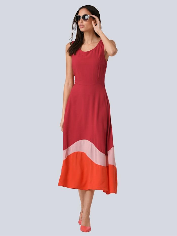 Kleid aus reiner Viskose