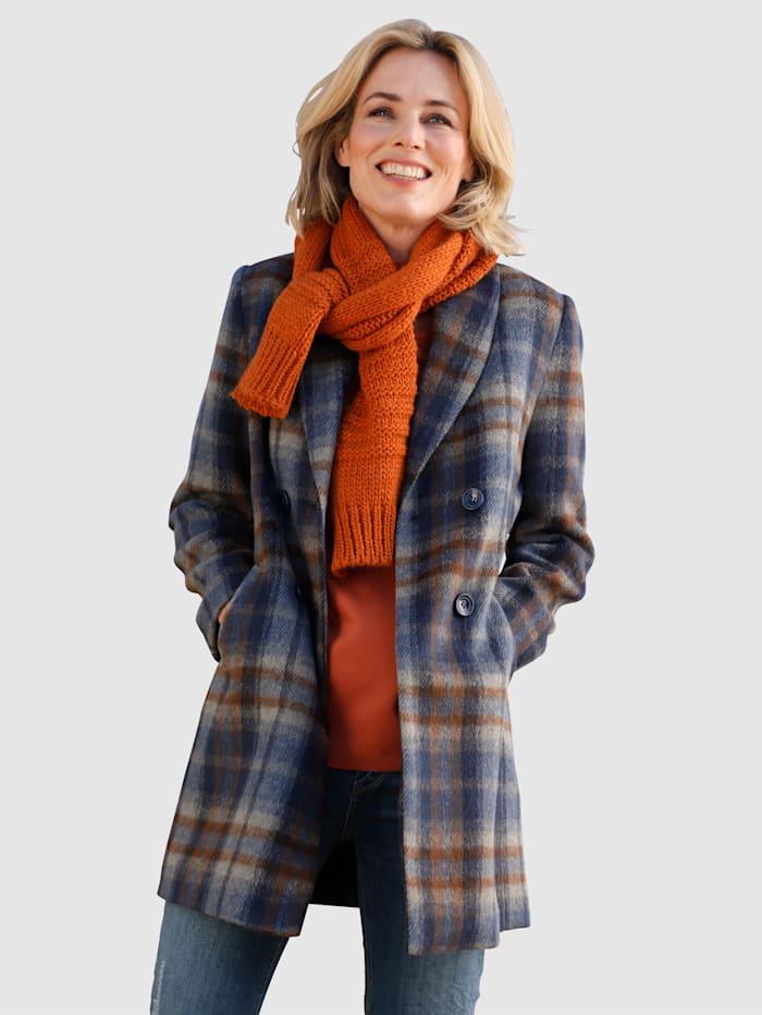 Dress In Jacke im Karodesign, Blau