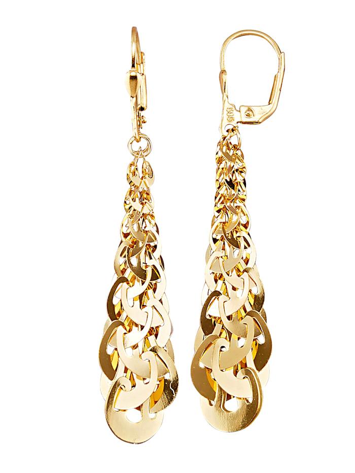 Amara Or Boucles d'oreilles, Coloris or jaune