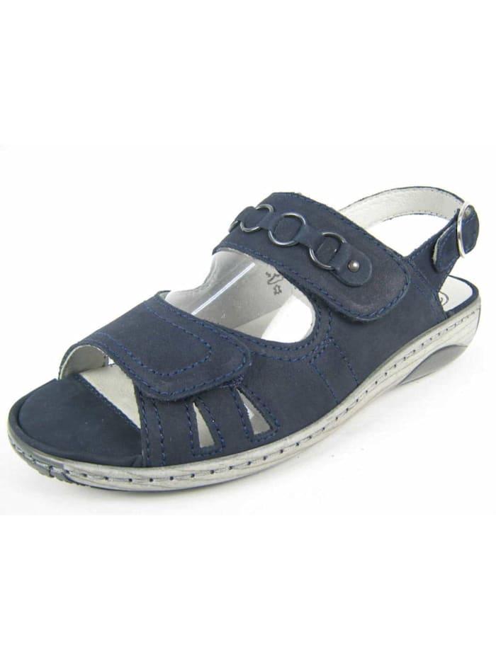 Waldläufer Damen Sandale in blau, blau