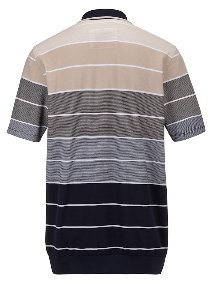 Shirt van luchtig piquémateriaal