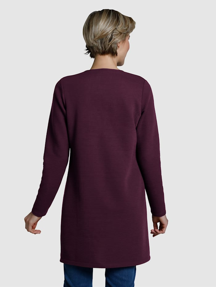 Sweatshirtjacka med dragkedja