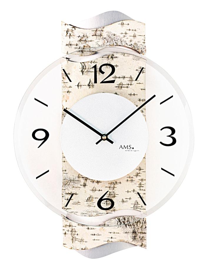 AMS Horloge murale, Marron clair