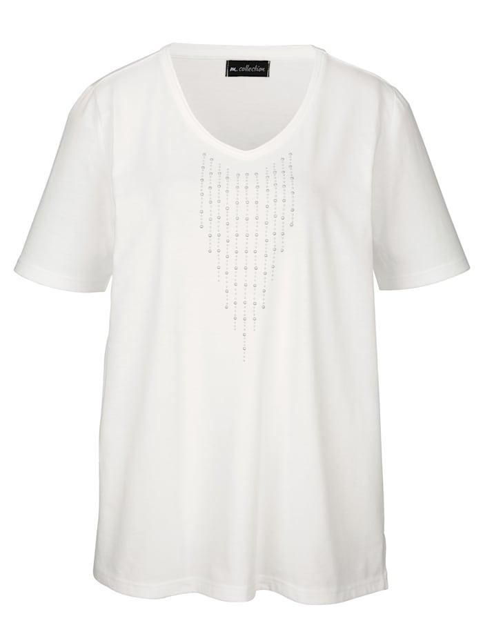 Shirt met klinknageltjes voor
