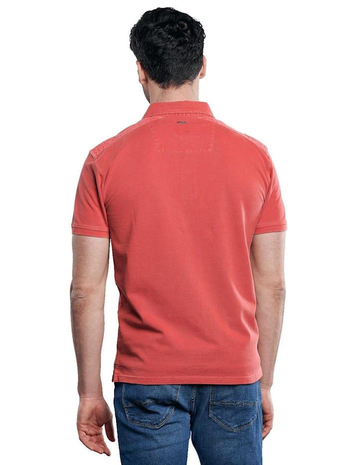 Poloshirt mit maskulinen Details