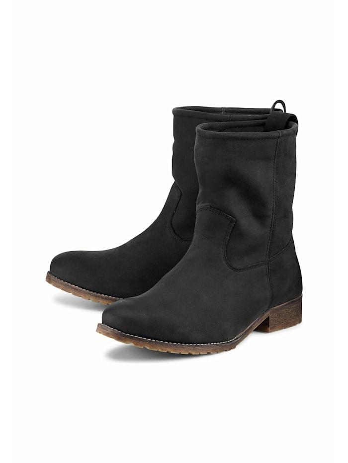 COX Winter-Boots Gaucho-Stiefelette, schwarz