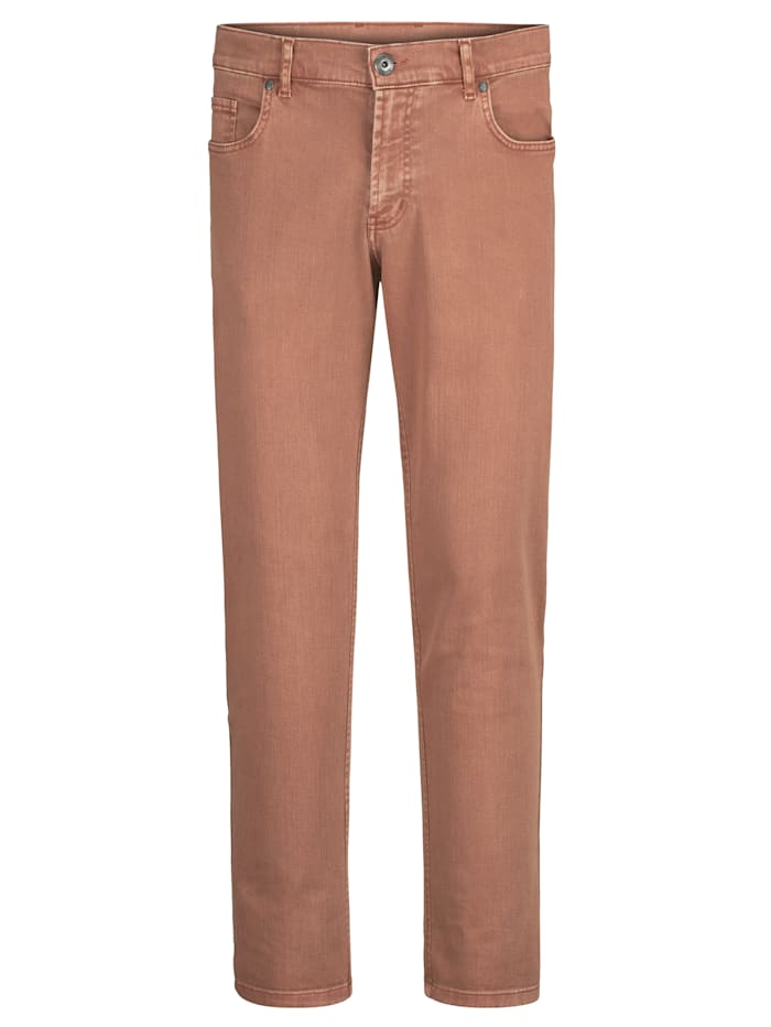 BABISTA Pantalon effet usé, Orange