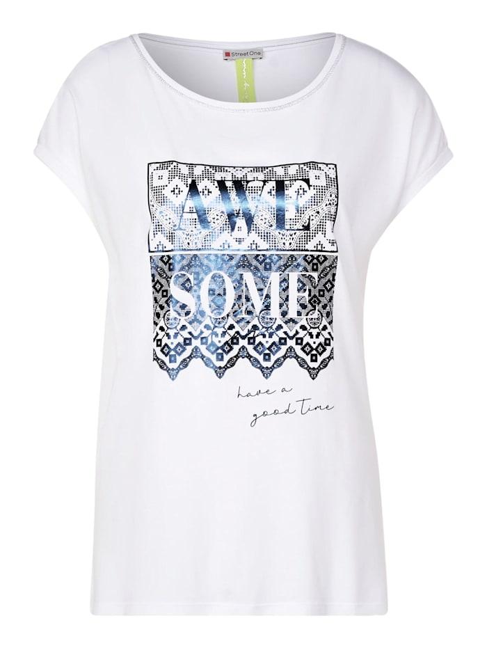 Street One T Shirt mit Frontprint | Klingel