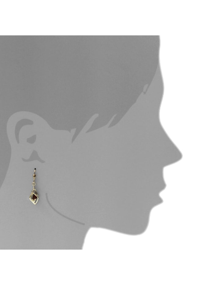 Ohrhänger - Sadie - Gold 585/000 - Bernstein